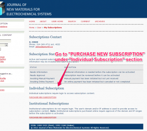 how to subscribe individual2